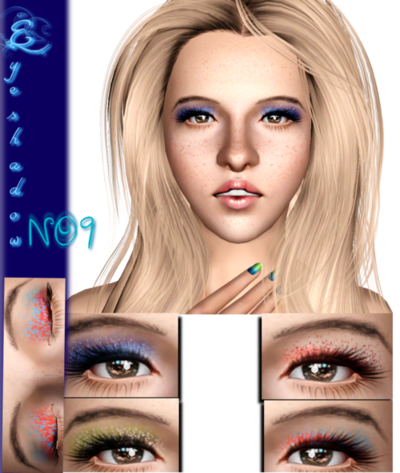 Eyeshadow No. 9 by WhiteCrow