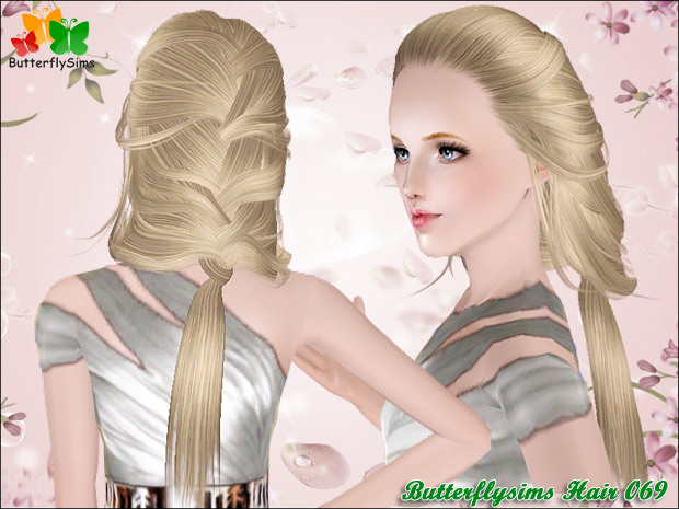Female-Hair069 by Butterflysims
