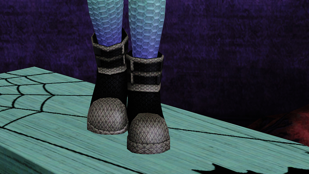Island Paradise Boots Fully Recolorable by Aod4909