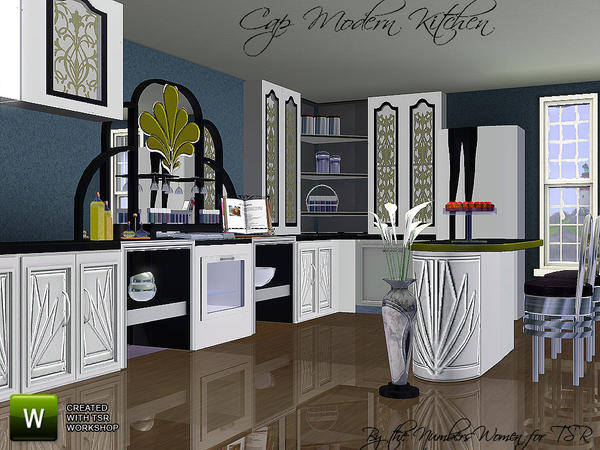 Cap Modern Kitchen by riccinumbers