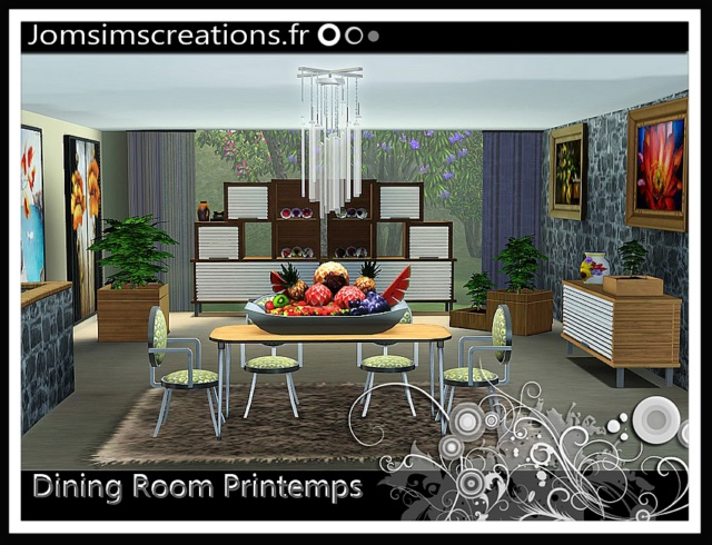 Printemps Dining Set by JomSims