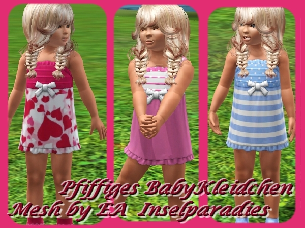 New dress for girls by Maxi Sims
