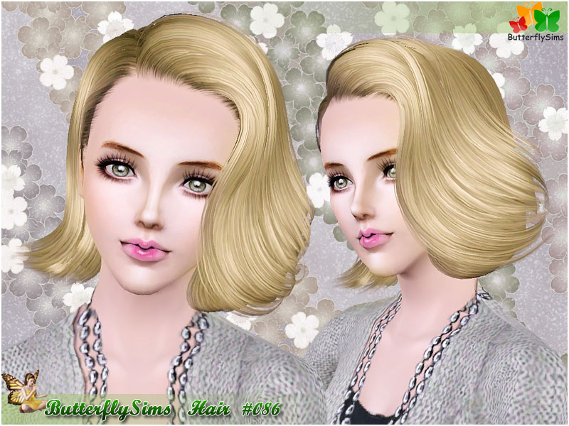 Hairstyle 086 by ButterflySims