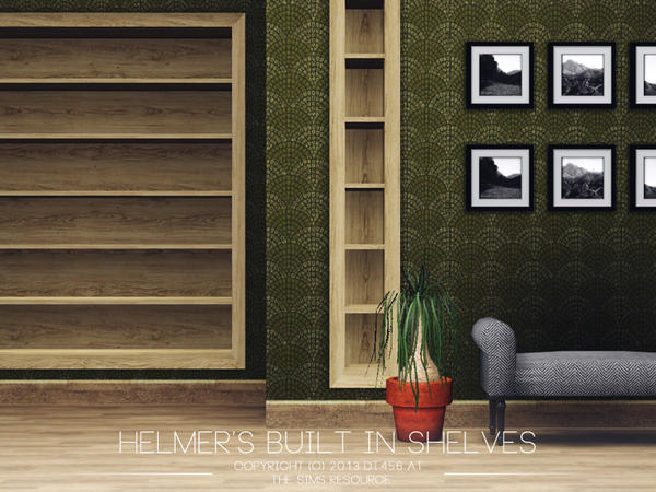 Helmers Built In Shelves by DT456