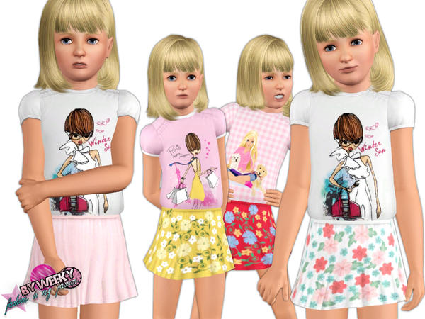 Little shopaholic - SET by Weeky