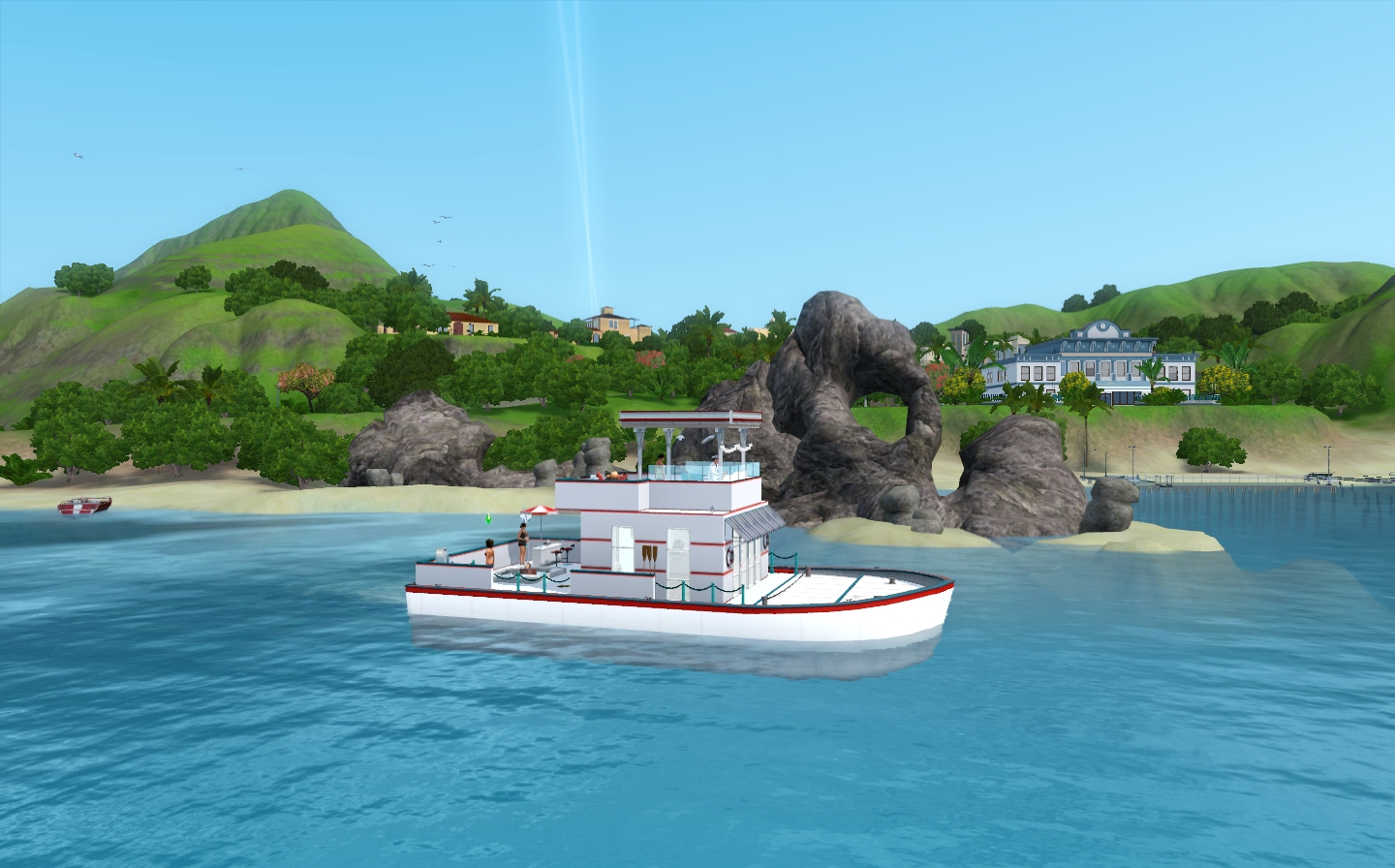 Prince Of Tides - Houseboat by Via Sims