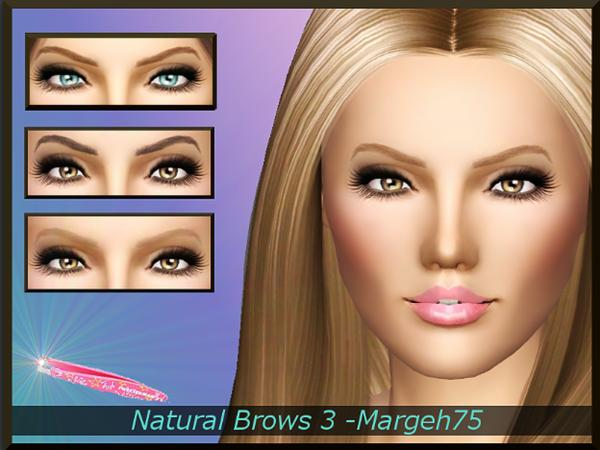 Natural Brows 3 by Margeh-75