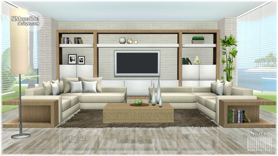 Sims 3 living room designs