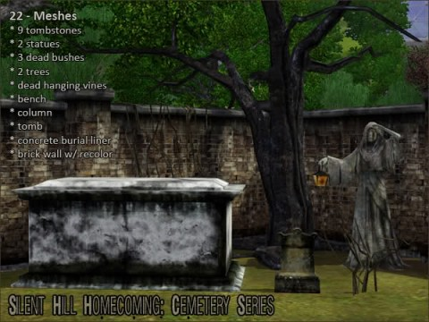 Silent Hill Homecoming: Cemetery Series by ThatScaryChick