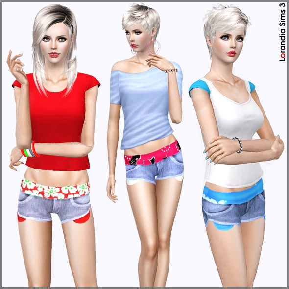 Summer Denim Shorts by Lore