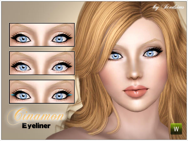 Cinamon eyeliner by icedsims