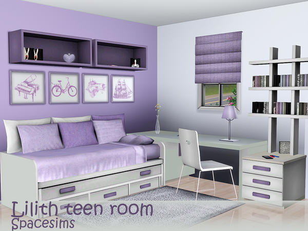 Lilith teen room by spacesims