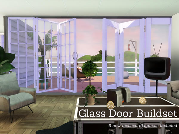 Glass Door Buildset by Angela