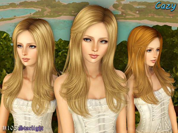 Starlight Hairstyle - Set by Cazy