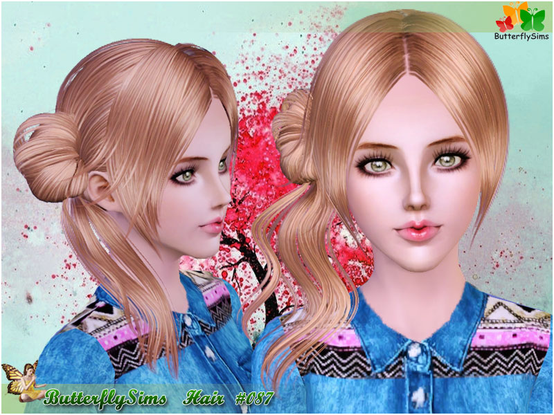 Hairstyle 087 by ButterflySims