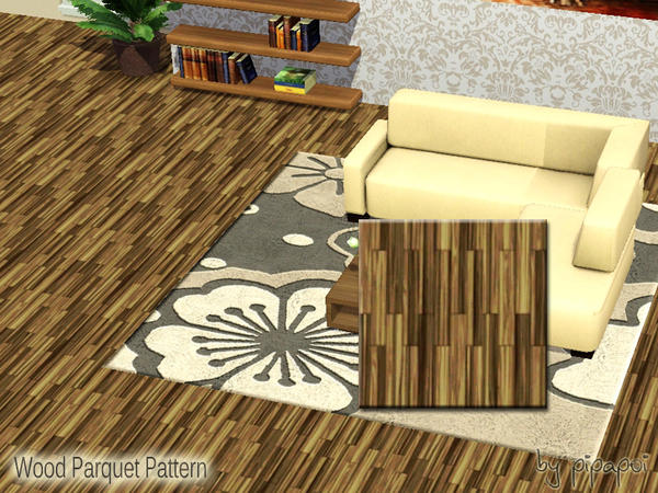 Wood Parquet Pattern by pipapoi