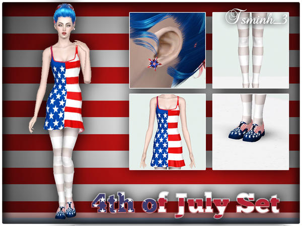 4th of July Set by tsminh_3