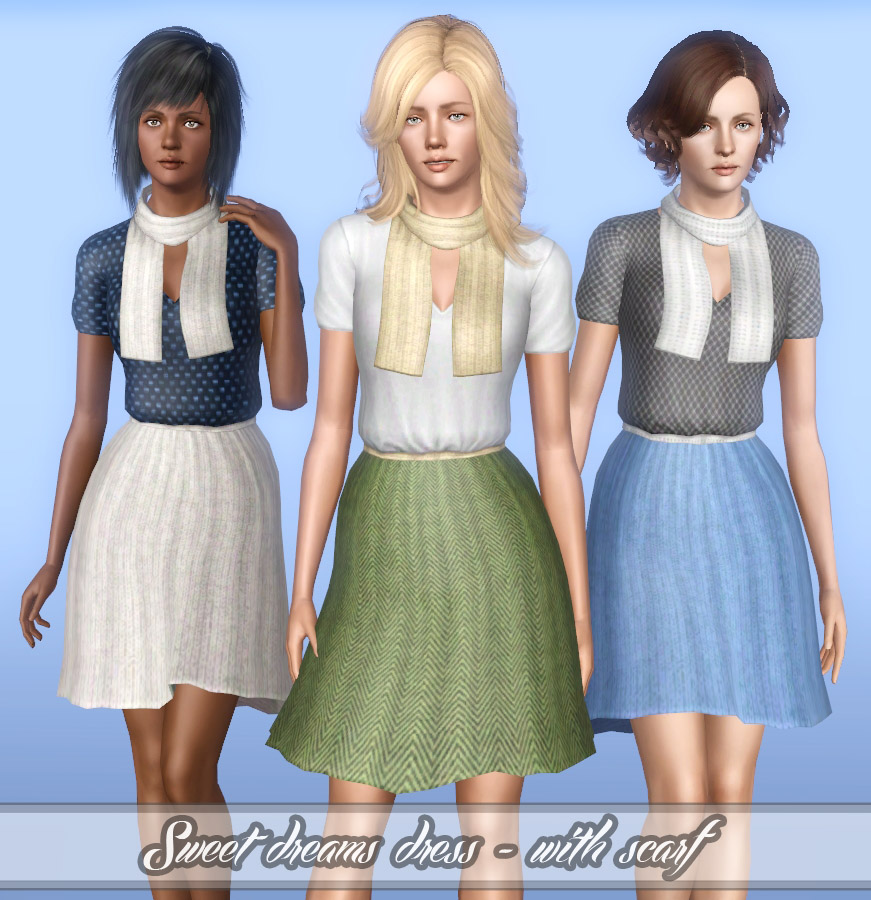 Sweet dreams dress - 2 different styles for YA/A by Lunararc