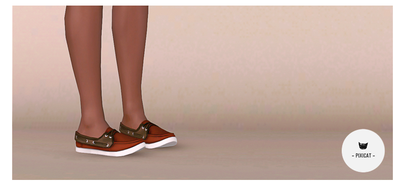 Boat Shoes for Males & Females by Pixicat