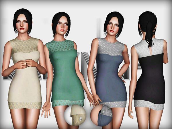 One Vintage-Kristen Dress by DarkNighTt