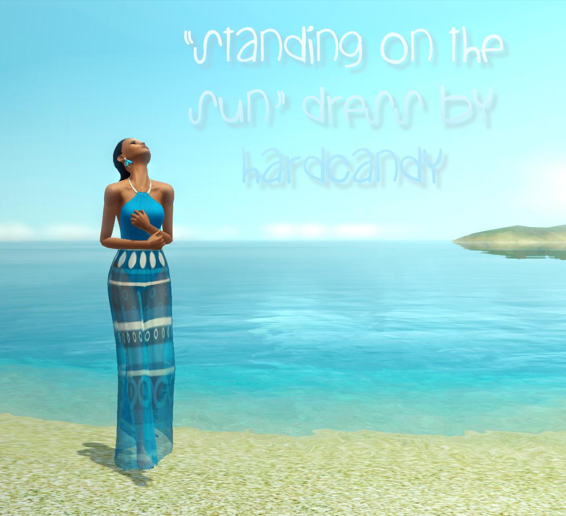 Standing On The Sun Dress by HardCandy