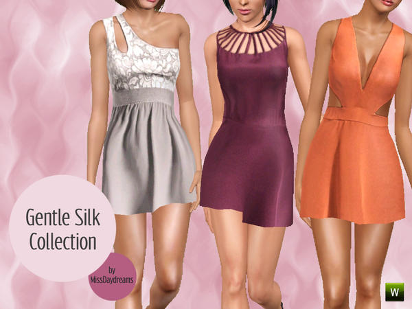 Gentle Silk Collection by MissDaydreams