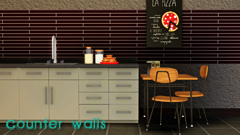 Counter Walls by Ziva