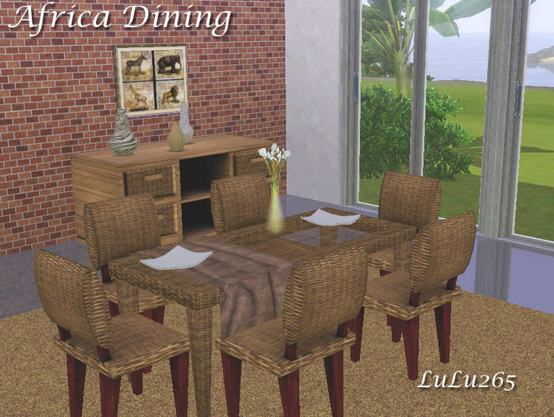 Africa Dining by Lulu265