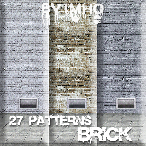 Brick Pattern 8 by IMHO