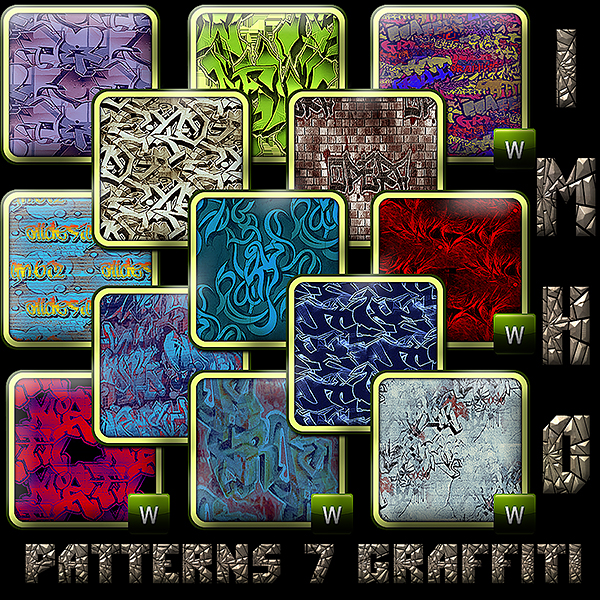 Patterns 7 Graffiti by IMHO