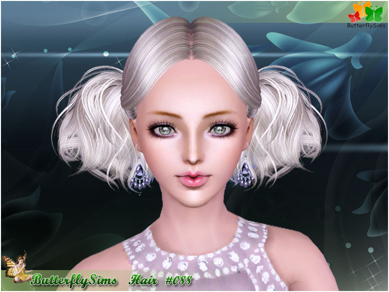 Hairstyle 088 by ButterflySims
