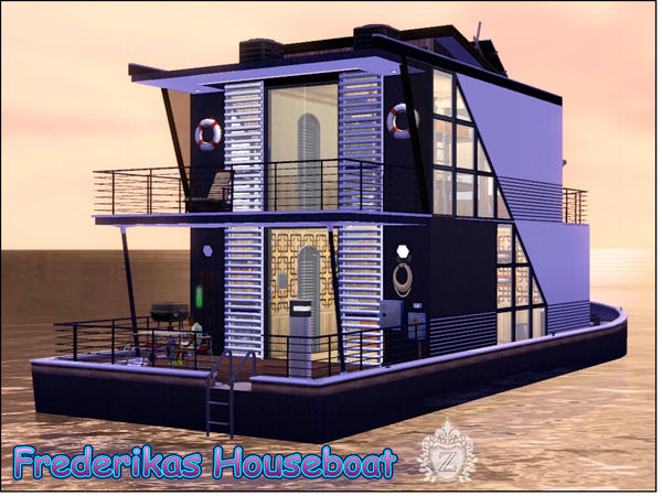 Frederikas Houseboat by ziapina