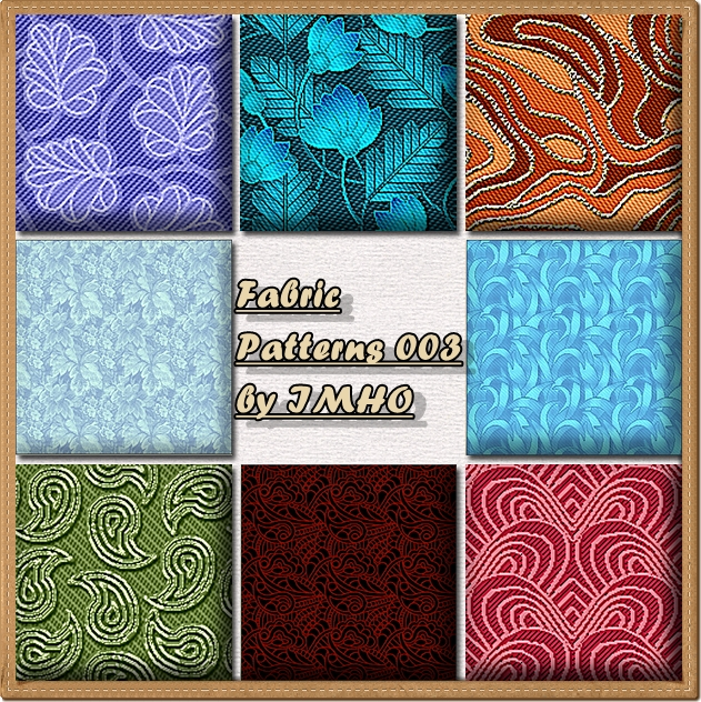 Fabric Patterns by IMHO