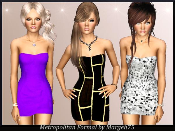 Metropolitan Formal Dress by Margeh-75