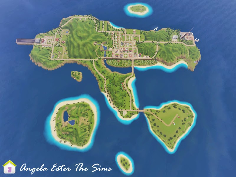 Agasias Isle by Angela Esther
