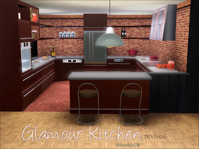 Kitchen Glamour by Shino&KCR