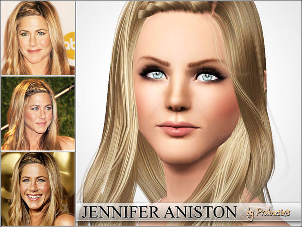 Jennifer Aniston by Pralinesims