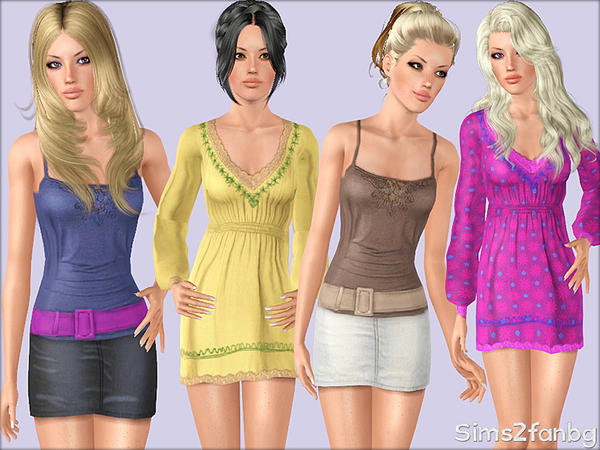 335 - Casual set by sims2fanbg