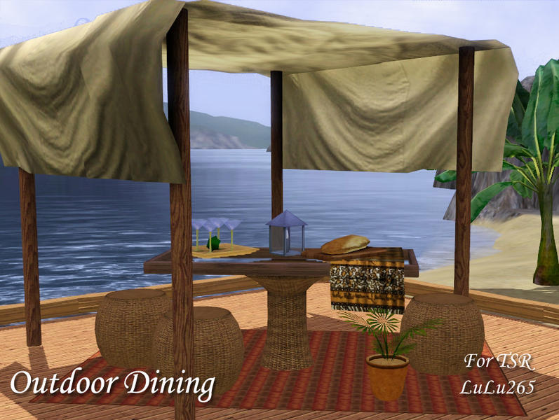 Outdoor Dining by Lulu265
