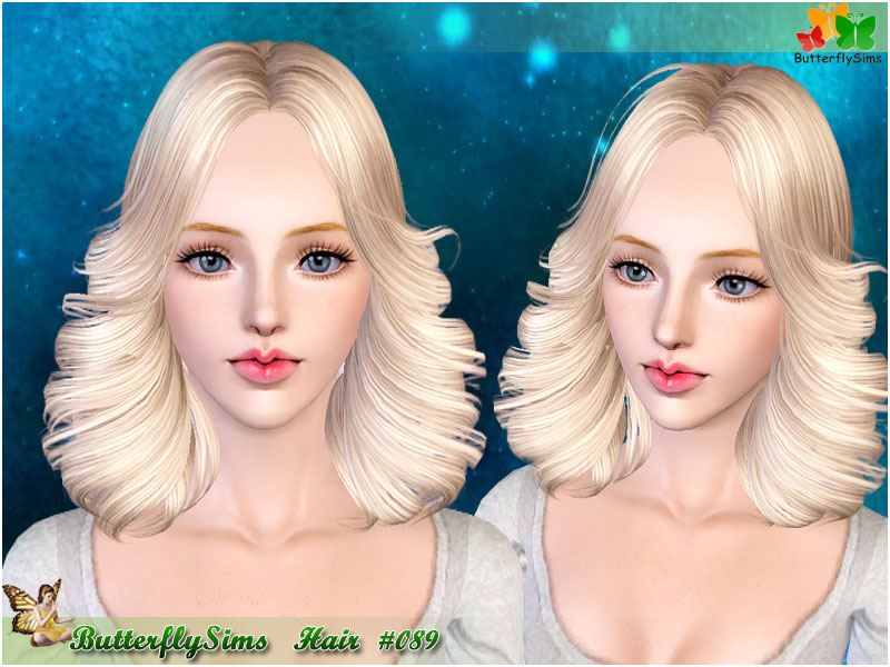 Hairstyle 089 by Butterflysims