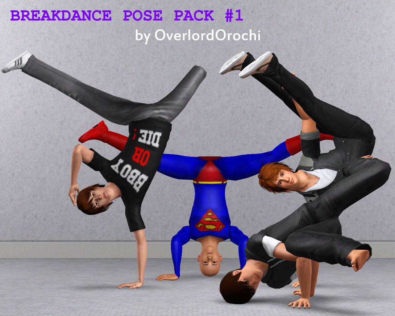 I Can Dance! : Breakdance Poses Pack #1 by overlordorochi