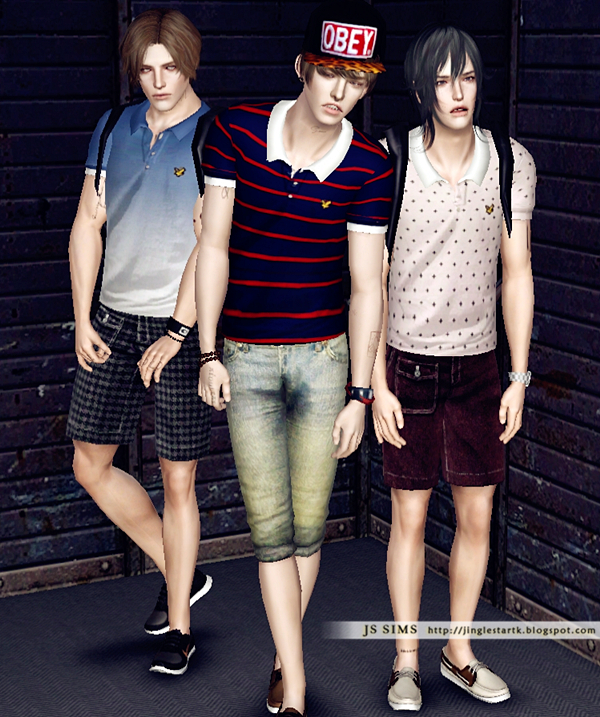 Casual Polo Shirt by JS Sims 3