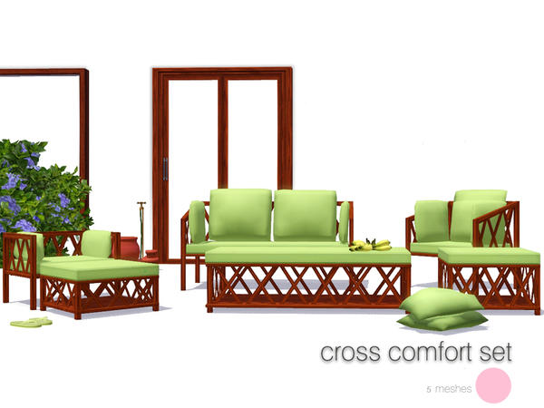 Cross Comfort Set by DOT
