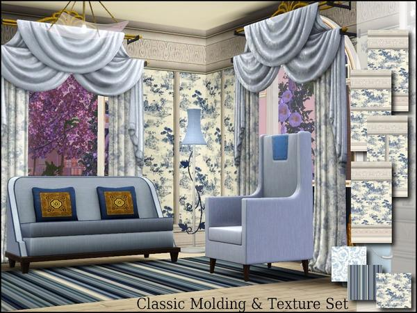 Classic Molding Wall Coverings and Textures by cm_11778
