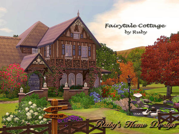 Fairytale Cottage by ruby1023