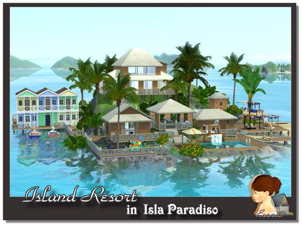 Island Resort by evanell
