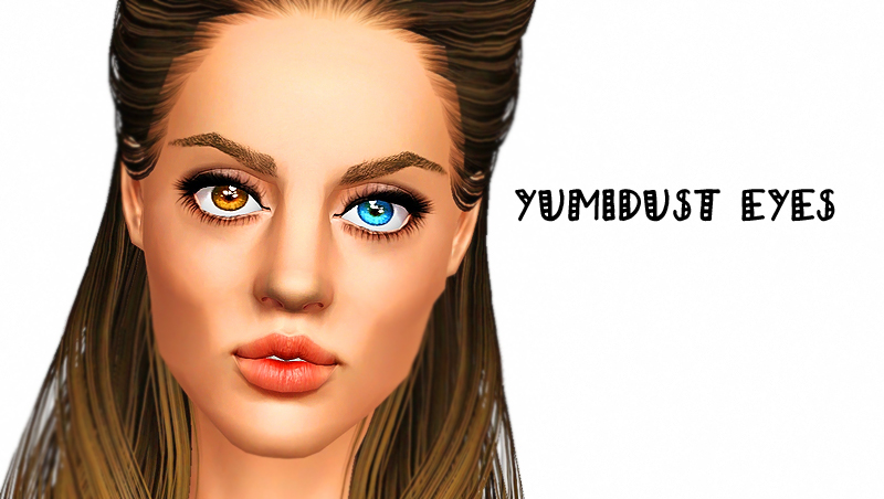 Yumidust Eyes in Heterochromia by Brnt Waffles