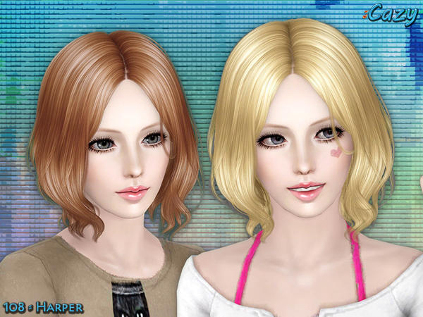 Harper Hairstyle - Set by Cazy