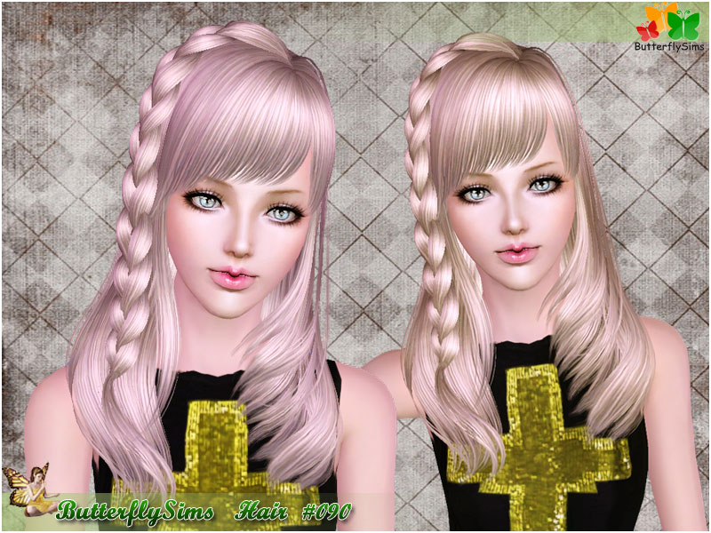 Hairstyle 090 by ButterflySims