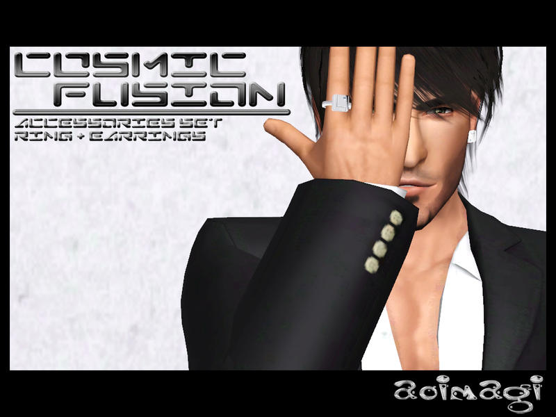 Cosmic Fusion Accessories Set by aoimagi